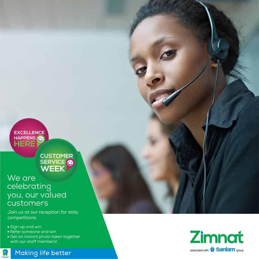 Zimnat Customer Service Week 2018