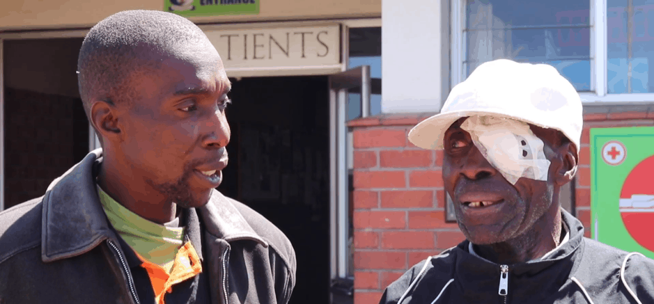 Man gets free eye cataract surgery through a Zimnat Initiative