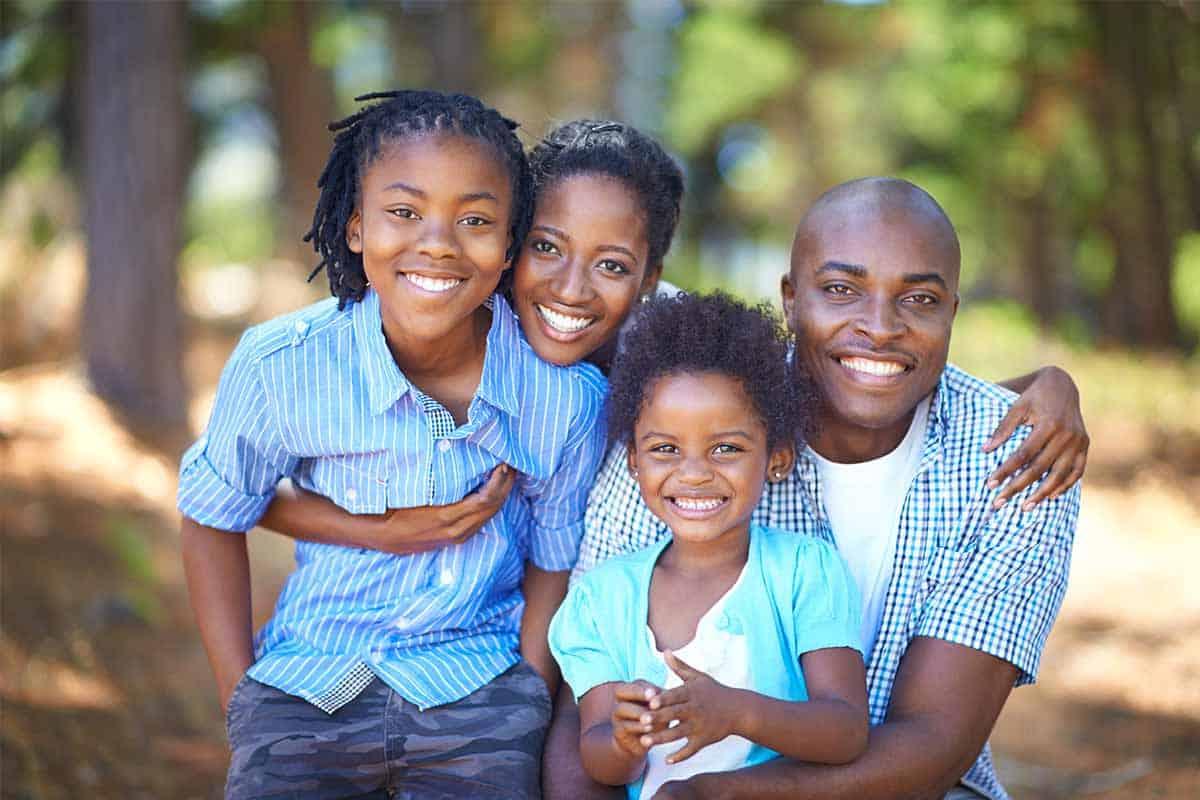 Happy African family Zimnat Life Assurance