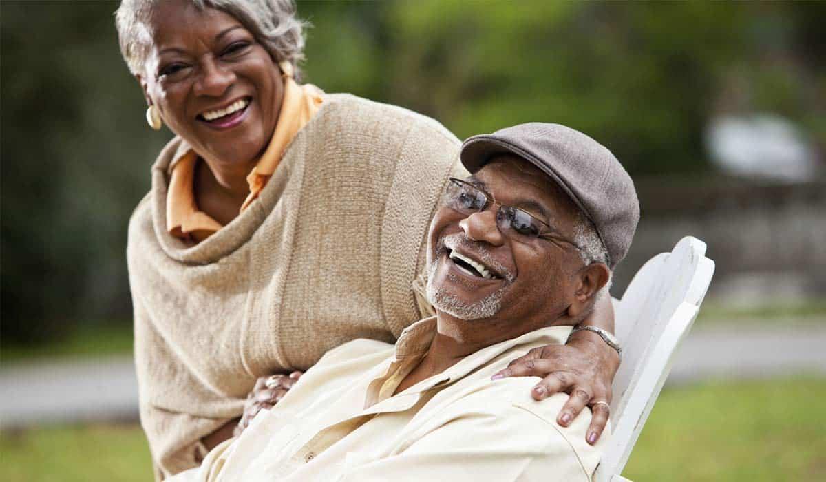 Zimnat old age black couple