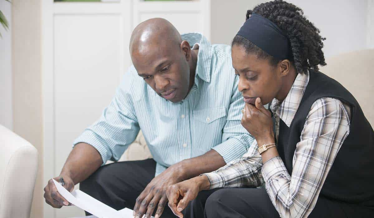 Zimnat black man and woman