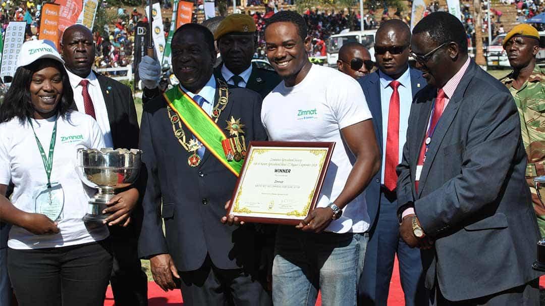 Zimnat Harare Agricultural Show Award 2018