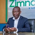 Zimnat General CEO demonstrating product use